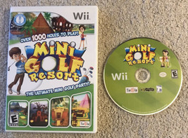 Mini Golf Resort (Nintendo Wii, 2010) - With disc and case, no manual - $24.70