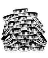 100 of Piano Wristbands - Silicone Bracelets for Pianist, Musician, Dancer - $58.29