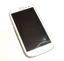 Samsung Galaxy S III SGH-T999 - 16GB - Marble White (Sprint) Smartphone - $29.38