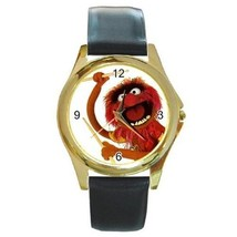MUPPETS SESAME STREET ANIMAL DRUMMER GOLD OR SILVER-TONE WATCH NEW GIFT - $25.99