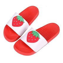 Cute Bath Slippers Colorful Fruit Beach Sandals Shower Shoes for Adults ... - $14.74