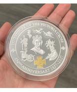 Britannia 2007 Victoria Cross 5oz Silver Coin  150th Anniversary 24k Gol... - $406.63