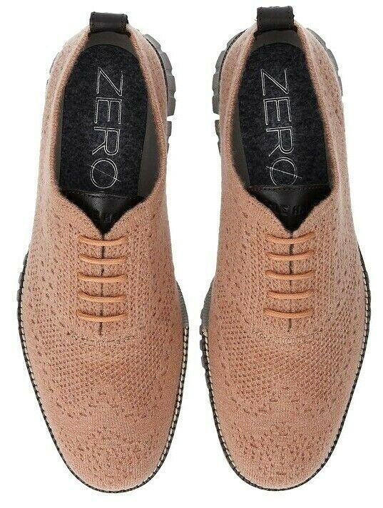 COLE HAAN ZEROGRAND OXFORD WITH STITCHLITE WOOL SIZE 10 BRAND NEW (C28891)