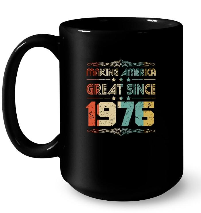 Vintage Retro 1976 42th 42 Years Old Birthday Gift Gift Coffee Mug