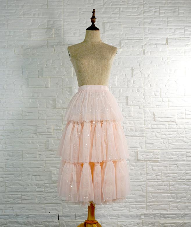 Blush princess skirt 7
