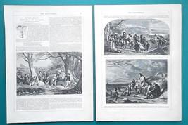 FREDERICK GOODALL RA British Painter - 1856 Biography Article + Illustra... - $7.65