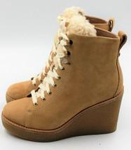 UGG Kiernan Women's Sheepskin Heel Boots - Honey - Size 5 - NEW Authentic - $149.59