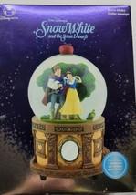 """Vtg Disney Princess Snow White 10"""" Musical Globe Someday My Prince Will Come! - $83.64"""