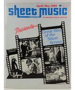 Sheet Music Magazine April/May 1984 Standard Piano/Guitar - $3.99