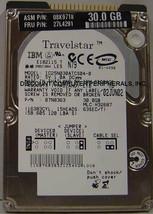 "NEW IC25N030ATCS04-0 IBM 30GB 2.5"" IDE 44PIN Hard Drive Free USA Ship"