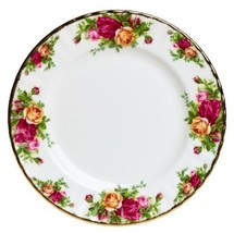 """SALAD PLATE  (S) 8"""" OLD COUNTRY ROSES ROYAL ALBERT - $37.39"""