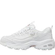 Skechers Damen D'Lites Frisch Start Leder Schuhe Weiß - $145.54