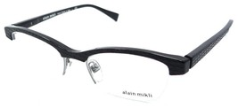 Alain Mikli Rx Eyeglasses Frames A03024 1026 51x19 Black Made in Italy - $105.06