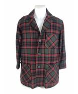Vintage Pendleton Mens Virgin Wool Button Down Plaid 3 Pocket Shirt Jack... - $37.36