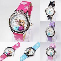 Children Kids Girls Disney Cartoon Princess Frozen Gift Analog Quartz Wist Watch - $7.99