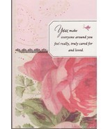 Hallmark Mother's Day Card With Envelope ( You Make Everyone around you.... - $5.59
