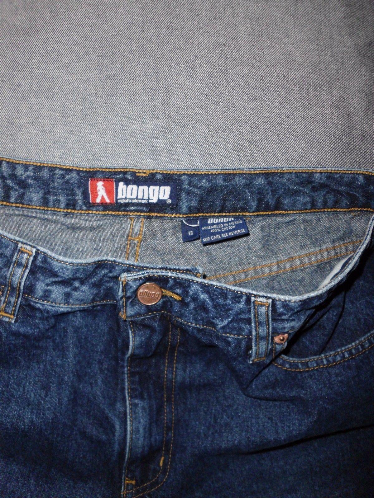 Vintage Bongo Jeans Boot Leg Size Junior 13
