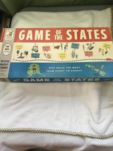 'game Of The States' Vintage Board Game By Milton Bradley 1960 - $15.83
