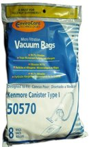 Kenmore Canister Style 50570 Vacuum Cleaner Bags, EnviroCare Replacement... - $10.19