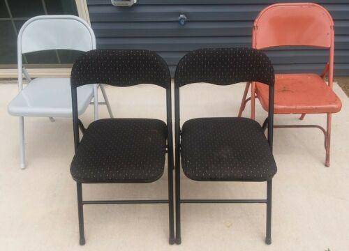 Folding Chairs Standard Indoor Outdoor Set of 4