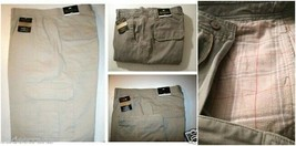 Men's Cargo Pants with Flannel Lined  Stone 36 x 34 - $34.50