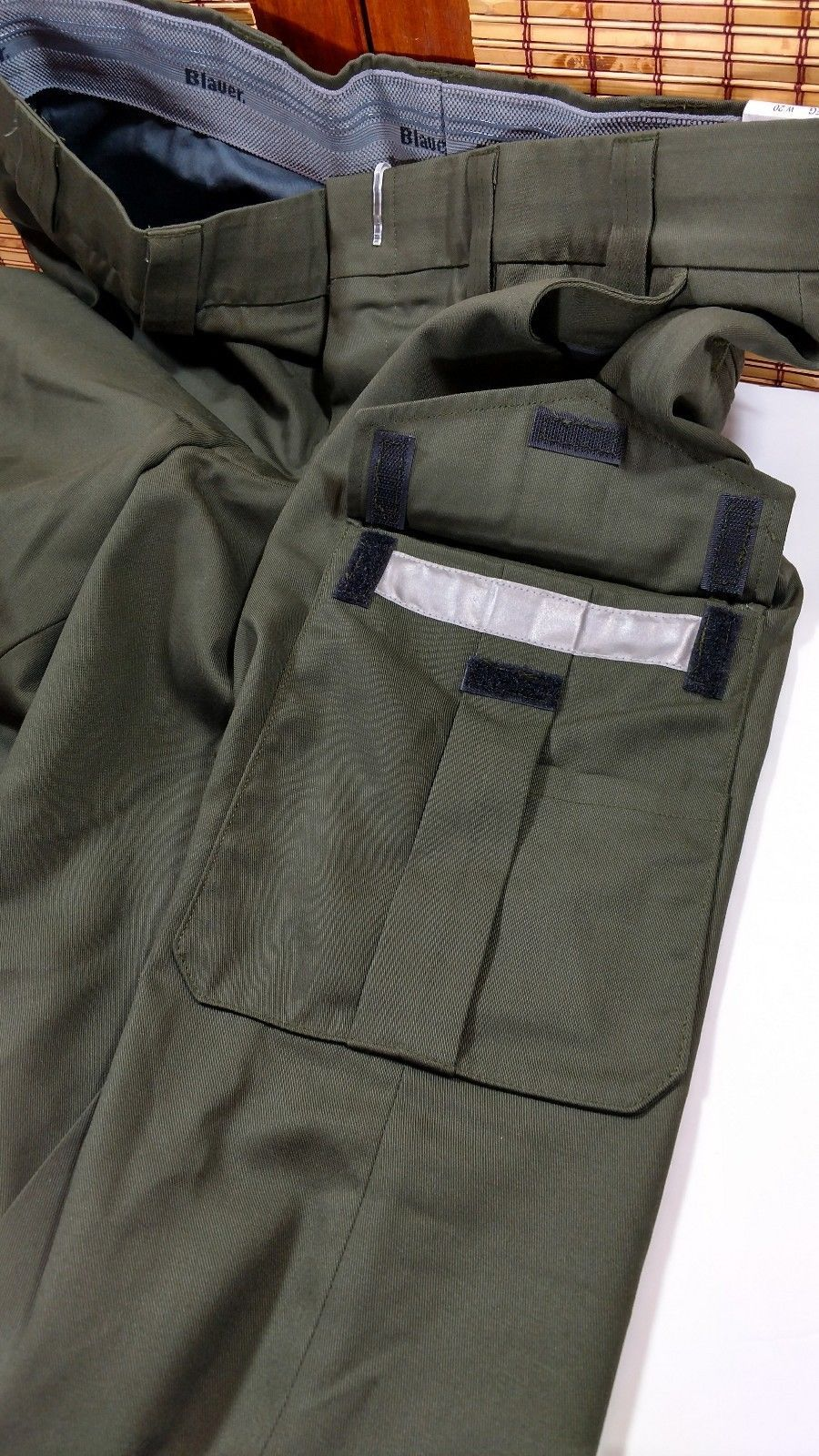 9cc99d0c5a Blauer Side Pocket Sheriff Border Patrol Duty Tactical Pants Trousers Green  8980