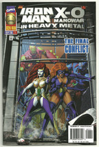 Iron Man X-O Manowar In Heavy Metal The Final Conflict Direct Edition VG... - $1.97