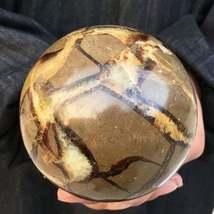 1300g 2.86LB Natural Dragon Septarian Sphere Quartz Crystal Ball Healing... - $159.99