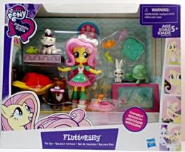 My Little Pony Fluttershy Pet Spa Equestria Girls mini doll Playset - $19.88