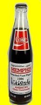 COKE Coca Cola 10oz Memphis 1984 1st Place America's Clean Community Com... - $17.00