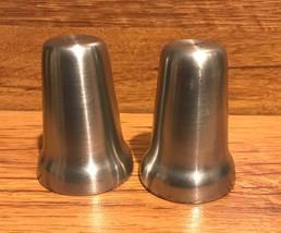 Vintage Danforth Pewter Salt & Pepper Shakers Signed by Fred Danforth - ... - $75.00