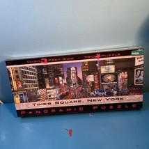 Times Square, New York 750 Piece Jigsaw Puzzle Buffalo Games Panoramic  - $11.88