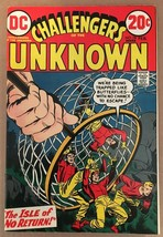 Challengers Of The Unknown #78 DC Comic Book VF+ Condition 1973 High Grade - $25.19