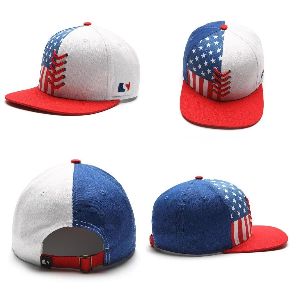 4th Of July Star Flag Baseball Cap Women Men Snapback Bone Hip Hop National Hats