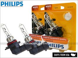 9005 HB3 9005B1 Original PHILIPS Standard Halogen Bulbs 65W OEM   Pack of 2 - $20.94