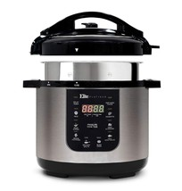 Elite Platinum EPC-686 Electric Pressure Cooker – 9-in-1 with 6 Qt. Tri-... - $117.72