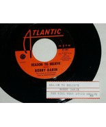 BOBBY DARIN REASON TO BELIEVE THE GIRL THAT STOOD 45 RPM RECORD JUKE BOX STRIP - $14.99
