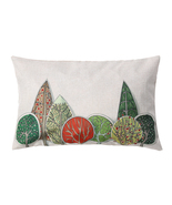 (03)50*30cm Printed Linen Comic Waist Cushion Cover Office Sofa Rectangl... - $18.00