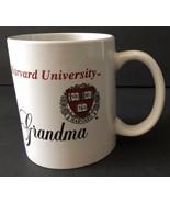 Harvard University Grandma Shield Logo Coffee Cup Mug (minor chip on bot... - $44.99