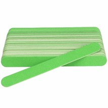 Nail File Lime A Ongle Professionel Nail Buffer 180/240 Grit Green 20pcs... - $5.26
