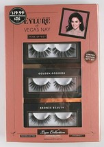 New Cosmetic London Eylure Vegas Nay Reusable Mink Effect Lash Sets