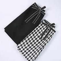 Temperament To Keep Warm Western Skirt Women Autumn And Winter New Plaid... - $35.99