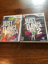 Just Dance 2 - Nintendo  Wii Game And Just Dance 2014 - $9.50