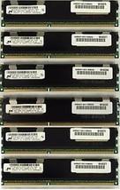 24GB KIT (6X4GB) Memory RAM  For HP Workstation Z800 & Z600 C2 Revision ... - $76.56