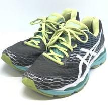 Asics Gel Nimbus 18 Fluidride Athletic Lace Up Shoes Running Gray Women ... - $54.99