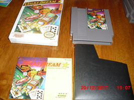 NES Vegas Dream (Nintendo, 1990) with box and game - $11.18