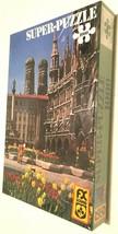 Vintage F.X. Schmid Munchen Marienplatz Puzzle 1000 Piece Super Puzzle 98241 New - $39.59