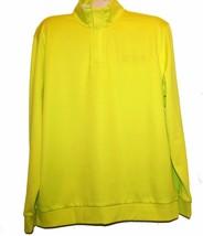 Hugo Boss Neon Green Men's Long Sleeve Cotton Sweater Shirt Polo Sz 2XL ... - $147.51