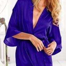 Victoria's Secret✨NEW✨ Sheen Satin Robe Kimono M/L - $49.40