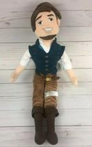 Disney Store Tangled Rapunzel Movie Flynn Rider Plush Toy Stuffed Rag Doll  - $15.88